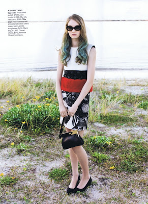Codie Young Vogue Australia Photoshoot