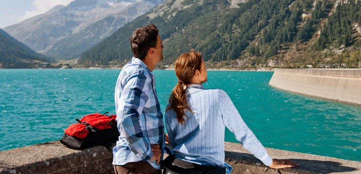 A Wonderful Hike along the Schlegeis Lake in Tyrol, Austria
