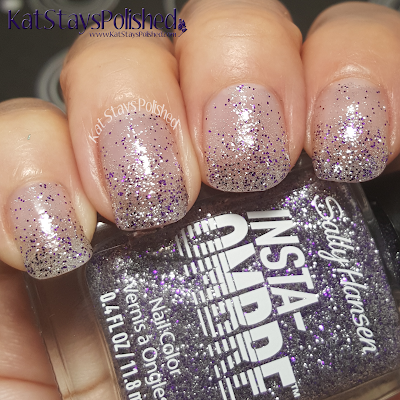 Sally Hansen Insta-Ombre - Layer on Lilac | Kat Stays Polished