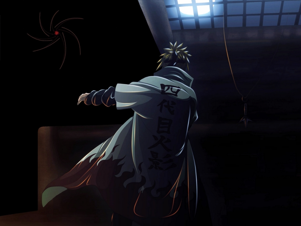 kane blog picz naruto wallpaper 4th hokage