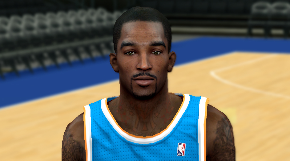 NBA 2K14 JR Smith Cyberface Patch