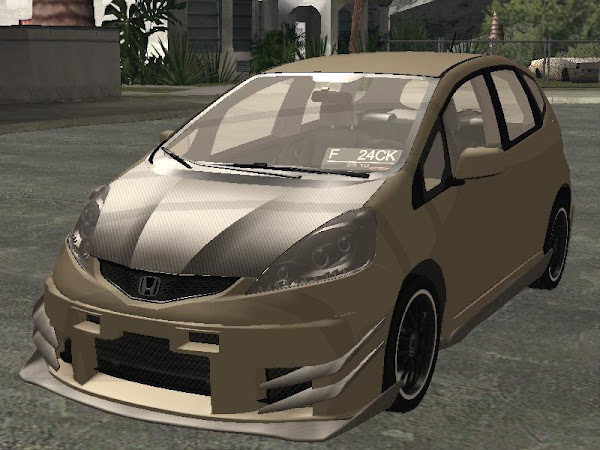 Honda New Fit Jazz Time Attack