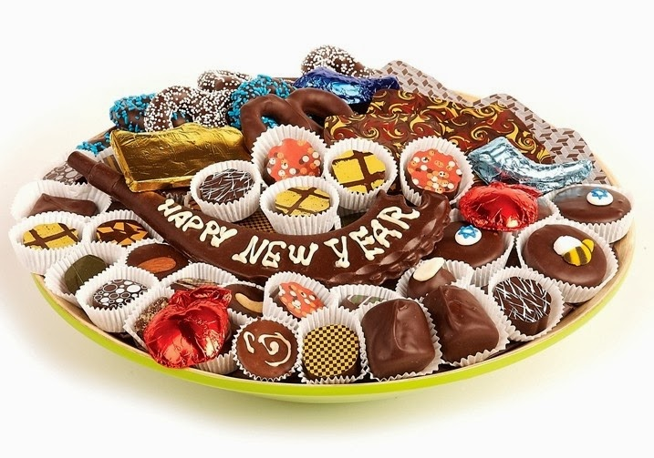 New Year Chocolates Ideas: Chocolate Gifts for New Year\'s Eve Party ...