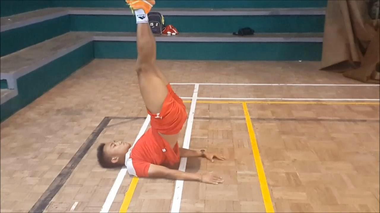 Leg Lower and Hip Raise