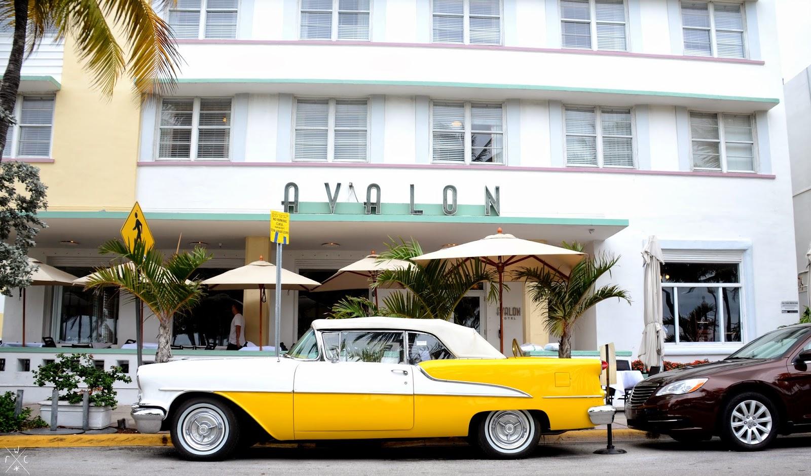 Avalon - Miami Beach, Floride, USA - Art Déco