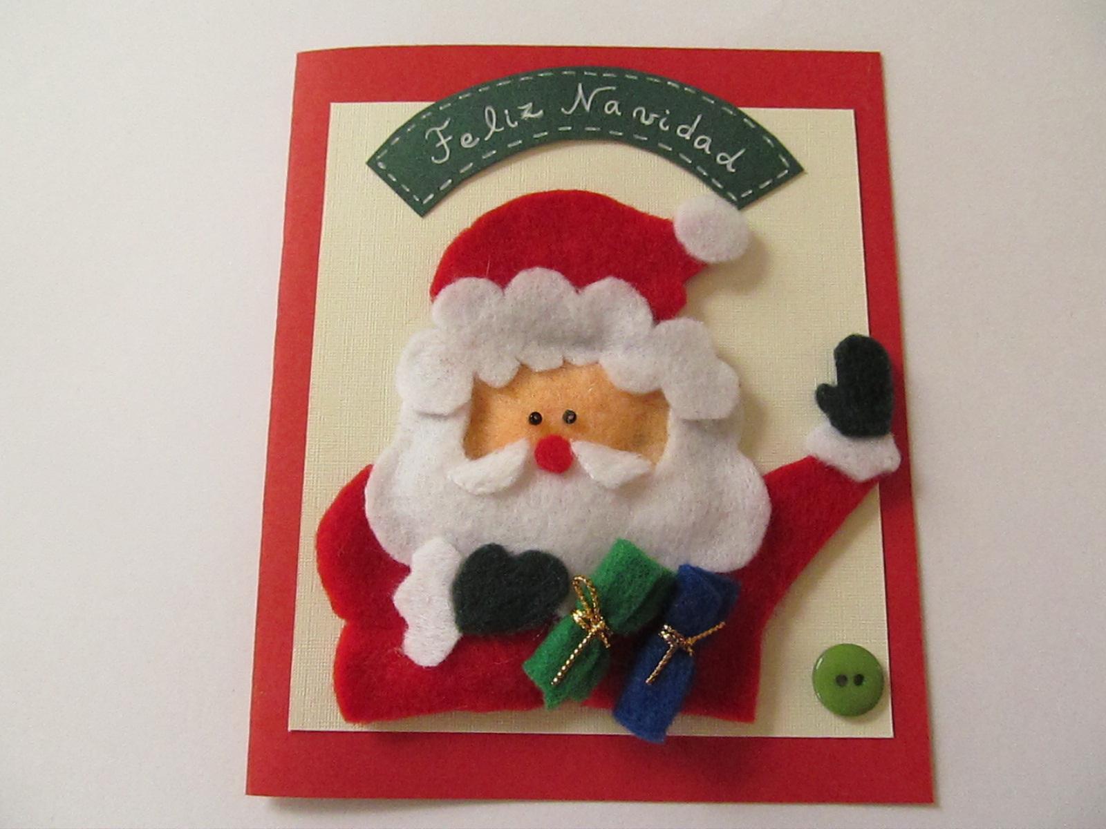 Petal 39 s tarjetas de navidad hechas a mano colecci n - Manualidades para navidades ...