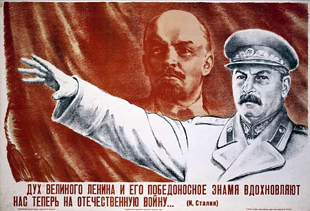 How did hitler and stalin use propaganda