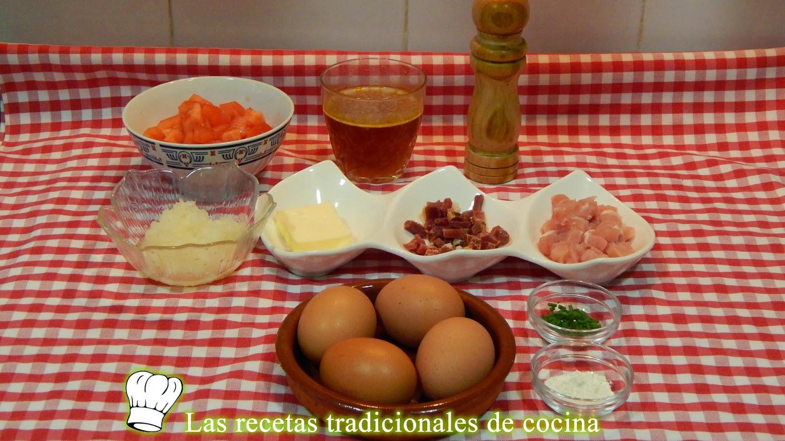Receta de huevos a la Barcelonesa