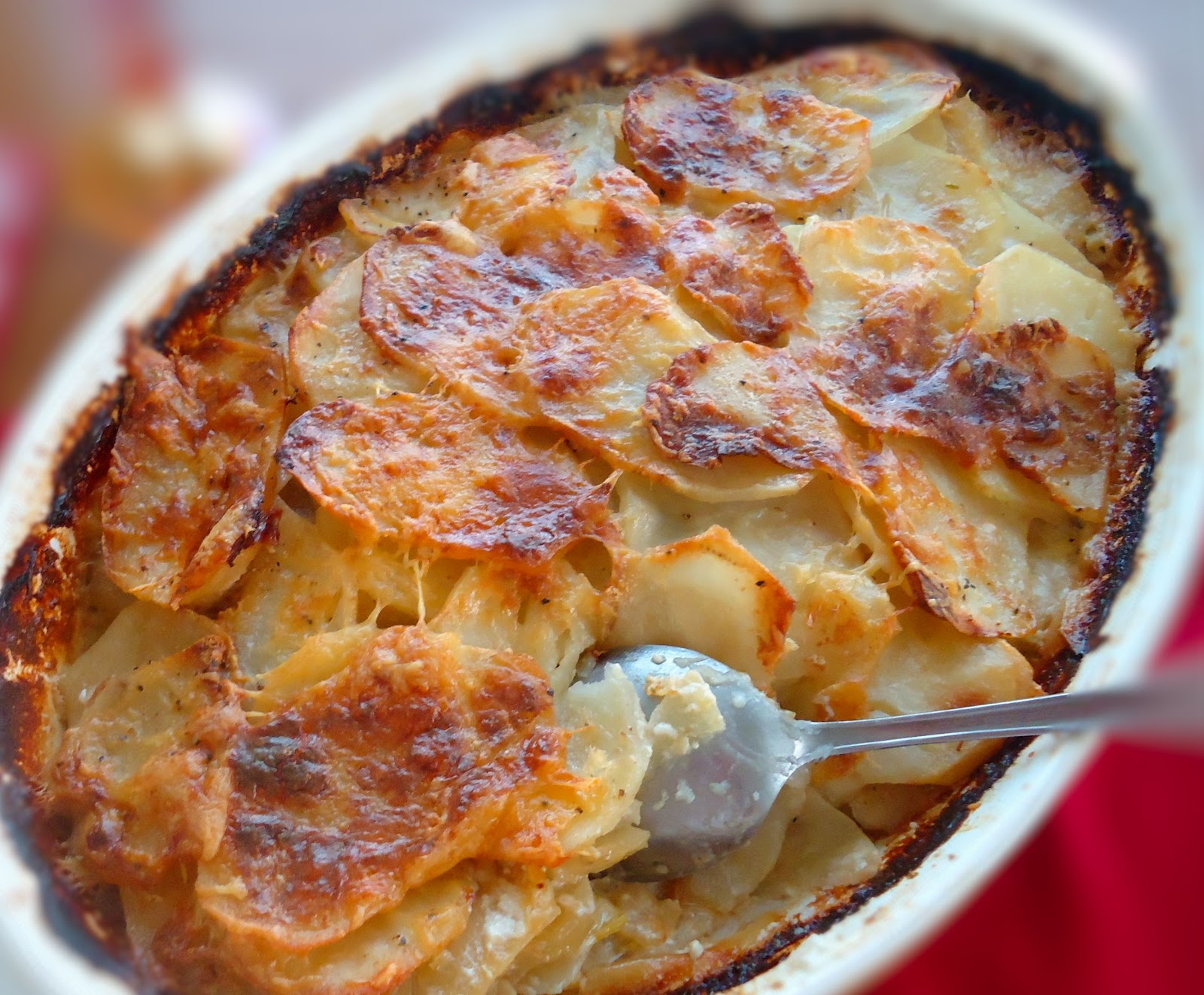 Veronika Eats: Scalloped Potatoes with Leeks