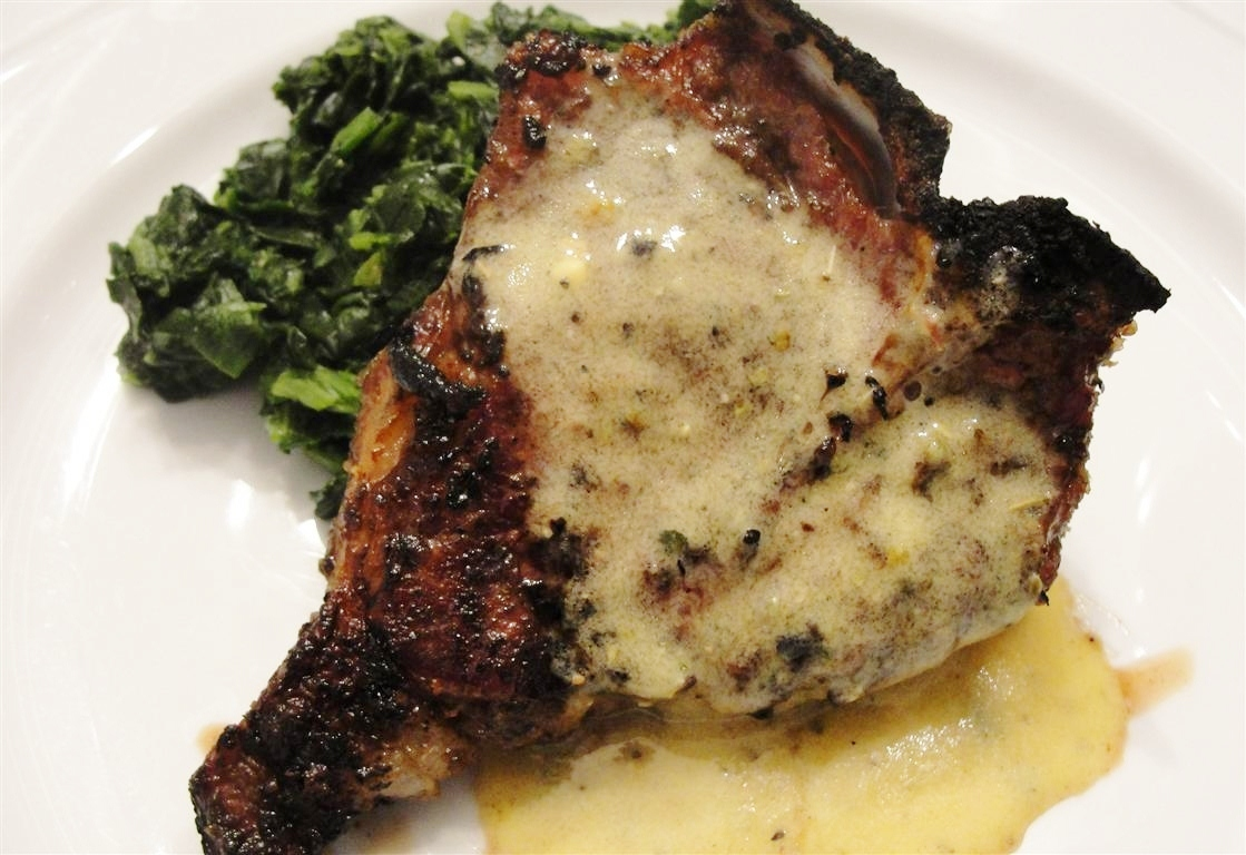 There's always thyme to cook...: Lamb Chops with Lemon Sauce