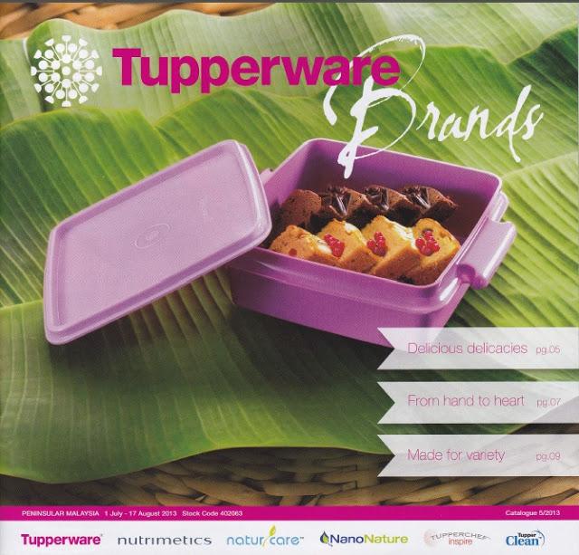 Tupperware Julai 2013 - Tupperware Catalog 01 July 2013 - 17 Aug 2013