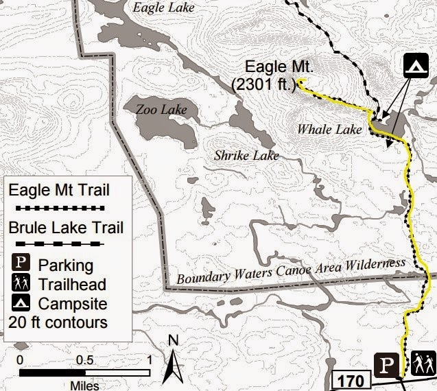 Day Hiking Trails: Topo maps for day hiking trails in Grand ...