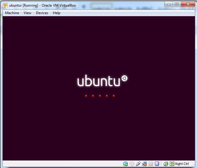 Installing Ubuntu inside Windows using VirtualBox