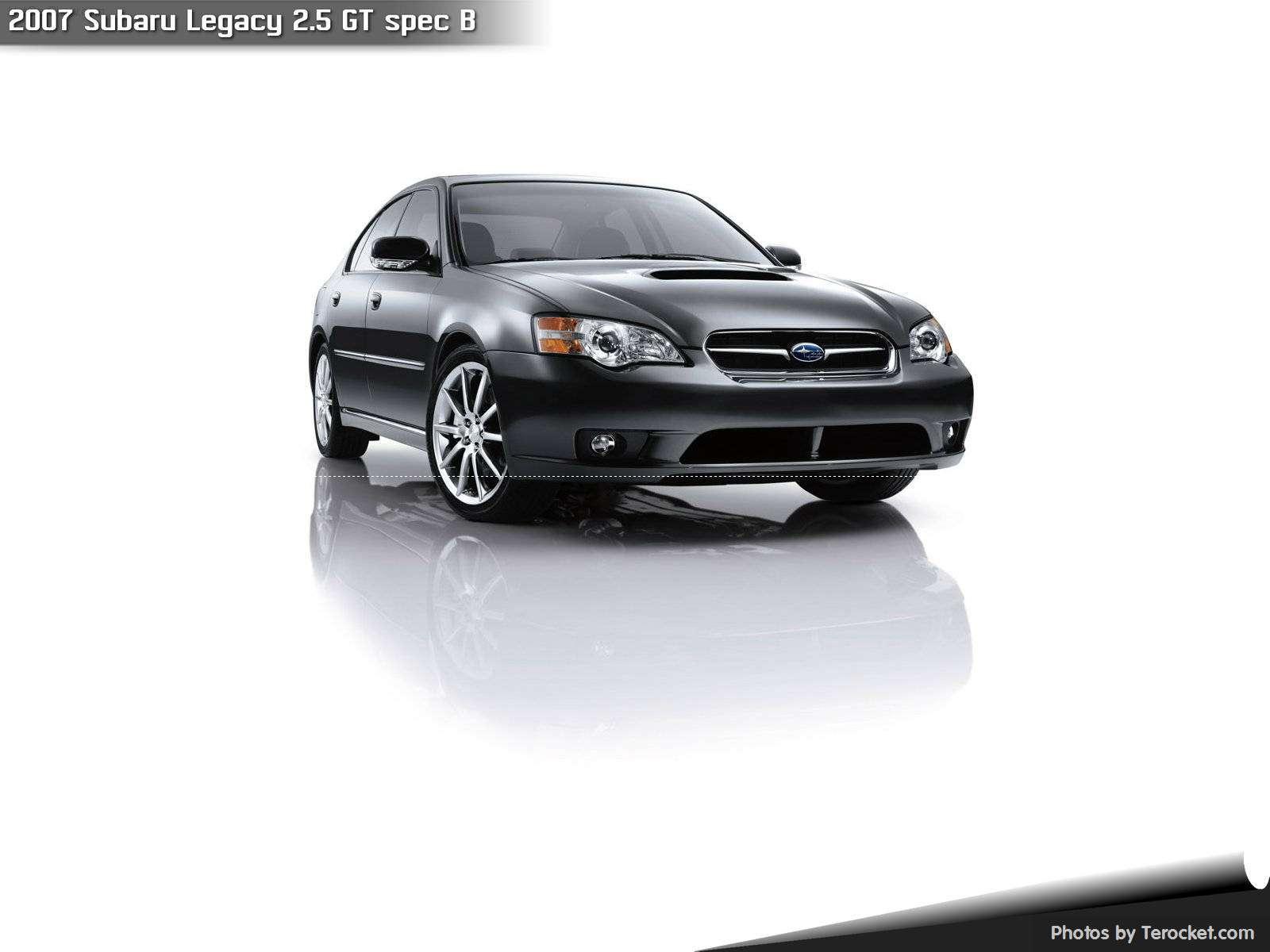 Hình ảnh xe ô tô Subaru Legacy 2.5 GT spec B 2007 & nội ngoại thất