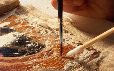 Μυστικά και θεραπείες των έργων τέχνης