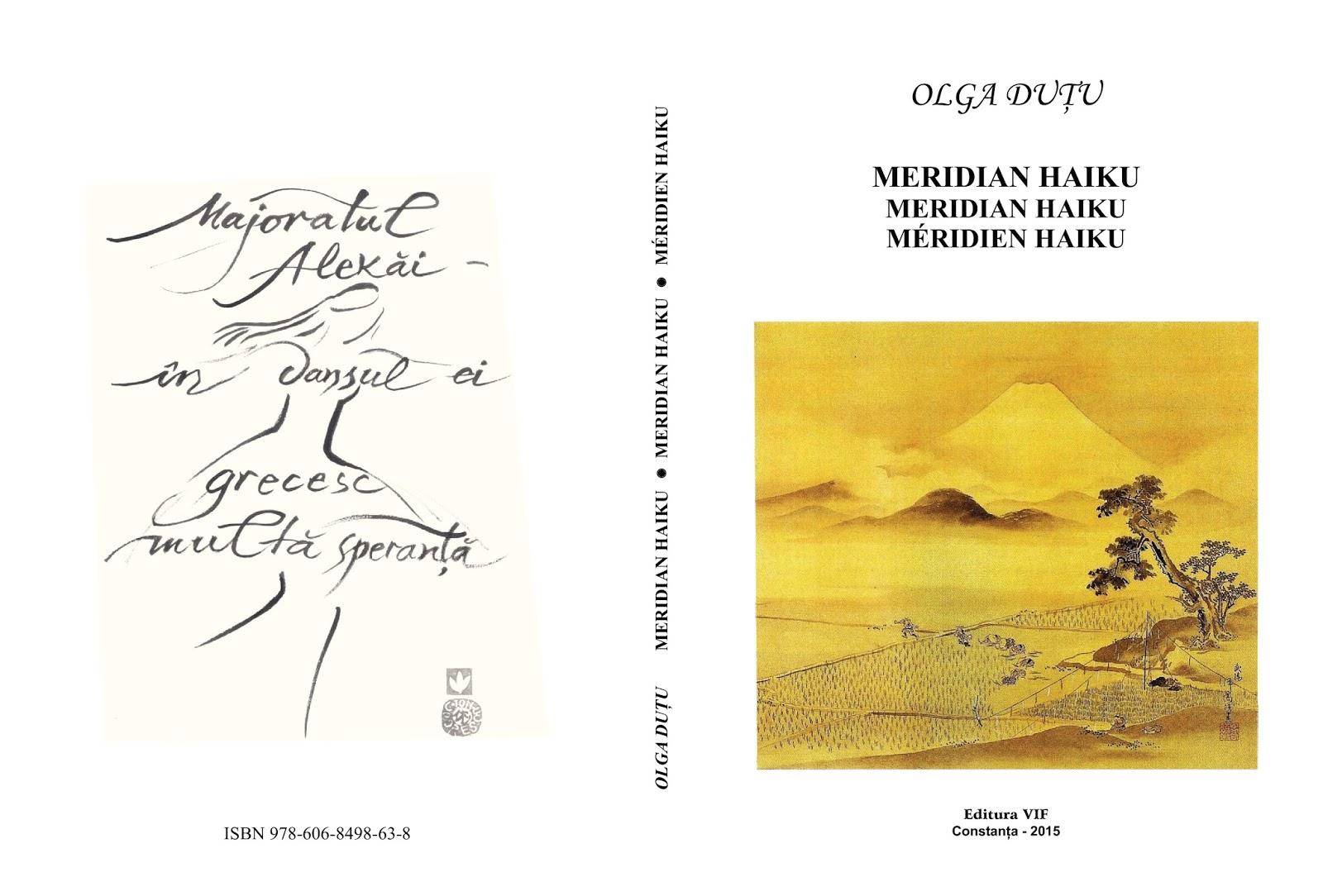 Olga Duțu- Meridian Haiku