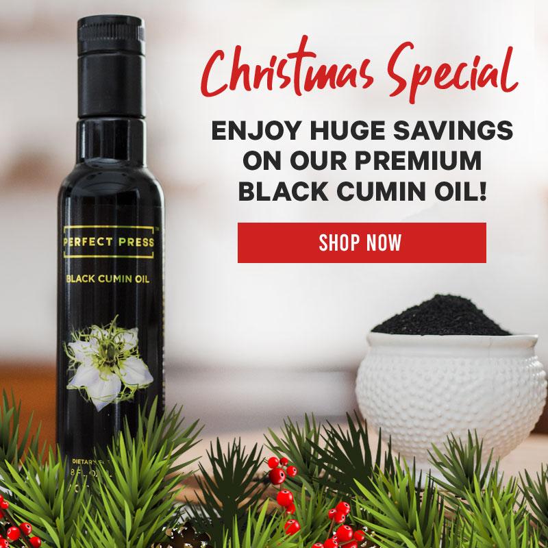 BLACK CUMIN CHRISTMAS SALE