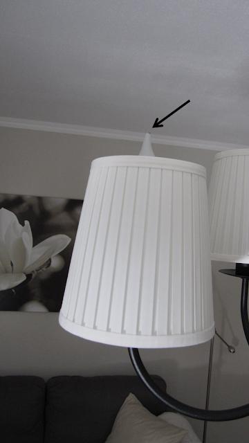 kleines gelbes haus ikea hack molnig kronleuchter ekas lampenschirm. Black Bedroom Furniture Sets. Home Design Ideas