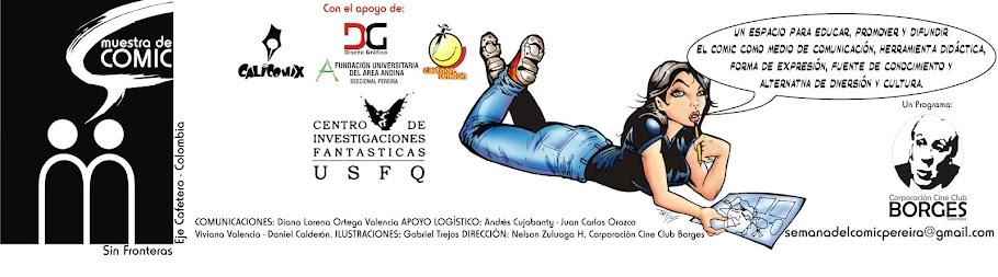 Muestra de Comic Sin Fronteras