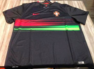 gambar hasil photo kamera Jersey timnas Portugal away Euro 2015