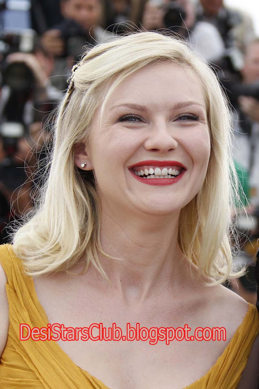 "Kirsten Dunst At Press Conference of ""Melancholia"" in Cannes 2011"