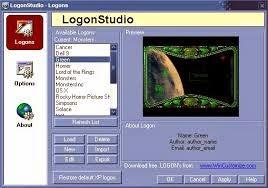 برنامج logonstudio 2014 لتلاعب بخلفية شاشة الكمبيوتر عند الدخول عليها اخر اصدار