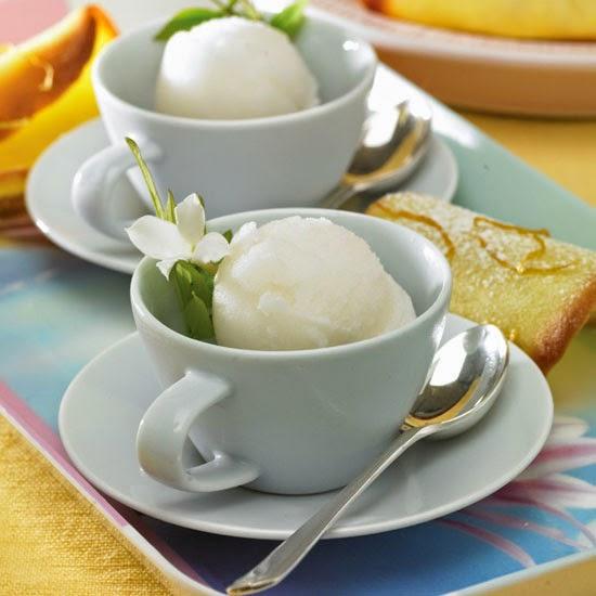 Jasmine tea sorbet | Ice Creams, Sorbets and Gelatos