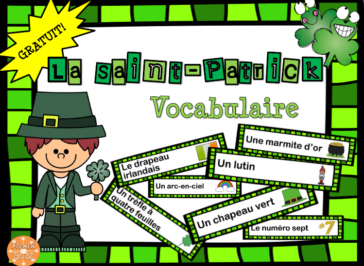 Vocabulaire de la Saint-Patrick