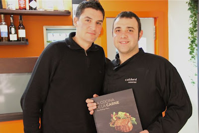 Chefs Óscar Molina y Daniel Lechuga. Blog Esteban Capdevila