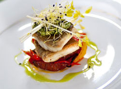 gourmet cuisine is served on French hotel barges