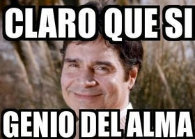 """Claudio Maria Dominguez """"Claro que si genio del alma"""""""