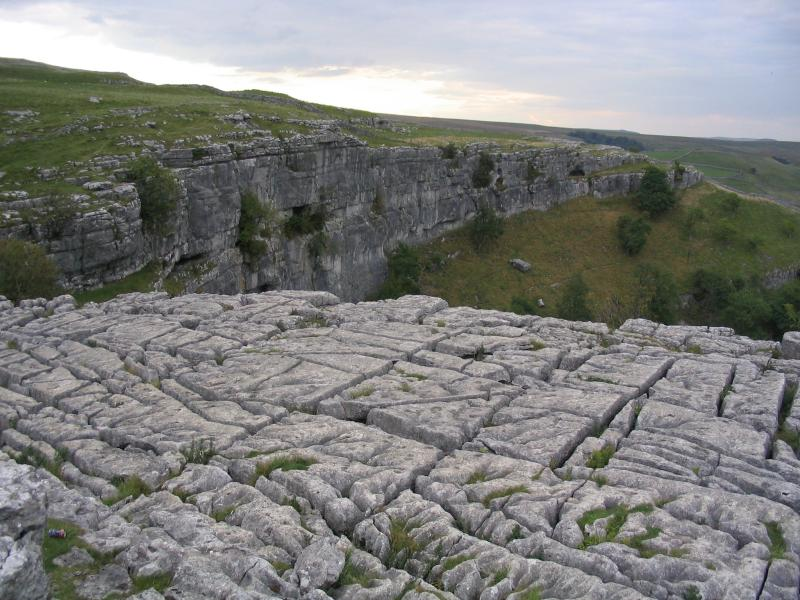 Natural Landforms Made by Erosion http://fastwindtoaim.blogspot.com/2013/02/erosion-landform-13limestone-pavement.html