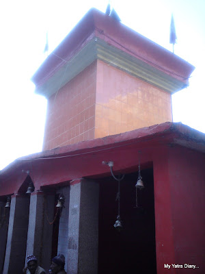 Hanuman Chatti temple enroute to Badrinath in the Garhwal Himalayas