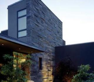 Fachadas casas modernas agosto 2013 - Piedra rustica para fachadas ...