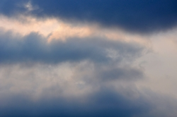 Wolkenverhangen...