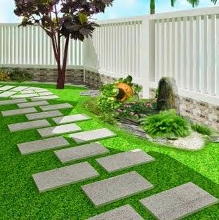 Thiết kế sân vườn cho nhà biệt thự
