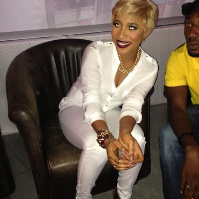 Tonto Dikeh stuns in all white