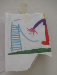 photo of: Reggio Emilia child's drawing for enlargement