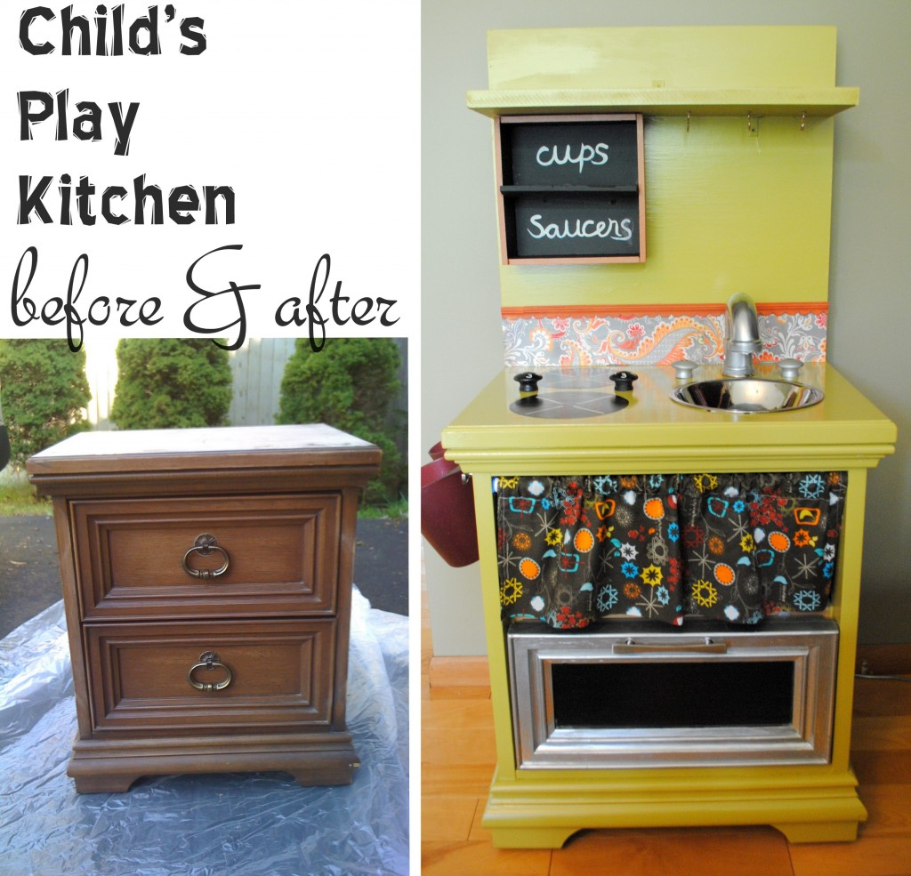 I'm Dreaming of a . . . DIY Play Kitchen - Creative Green Living