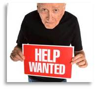 help wanted, senior citizen