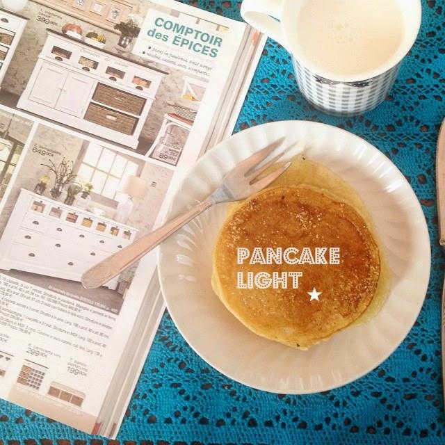 ricetta pancakes light