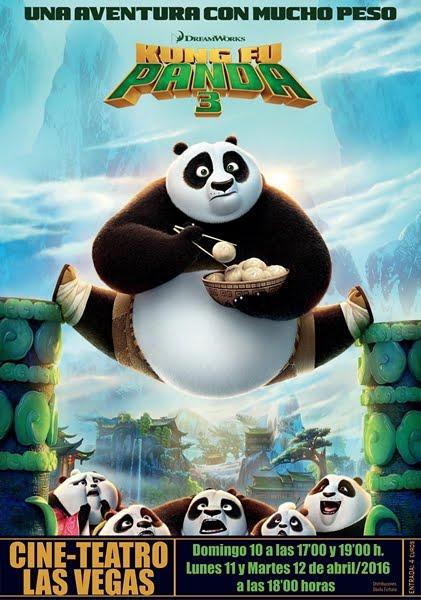 Cine: Kunfu Panda 3
