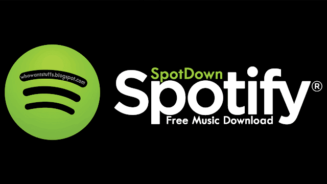 How To Download Spotify Music For Free Using SpotDown