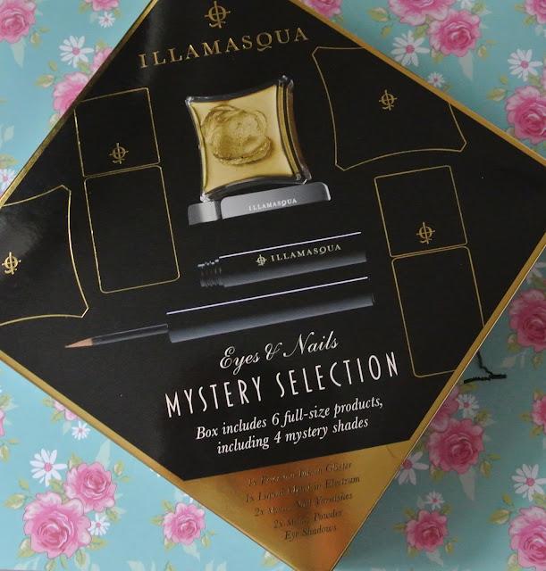 illamasqua mystery box swatch