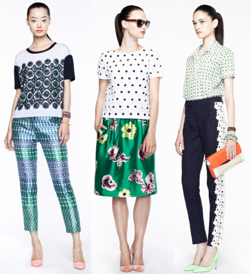 J.Crew Lookbook. Spring 2012