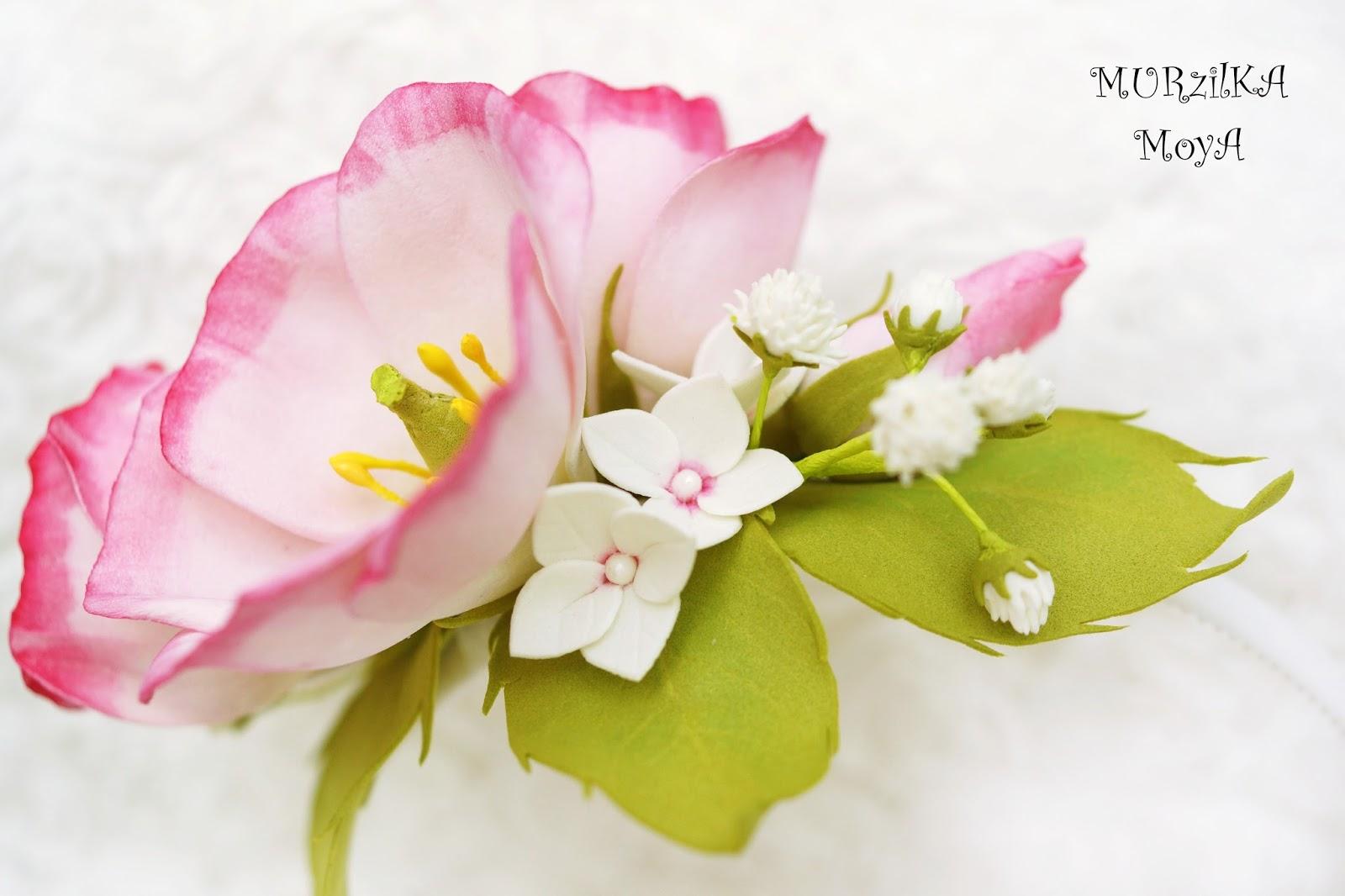 МК Цветы из фоамирана 88