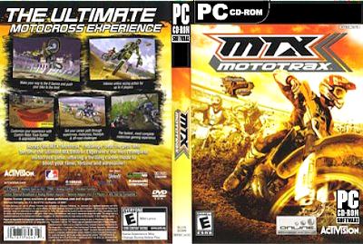 MTX Mototrax PC DVD Capa