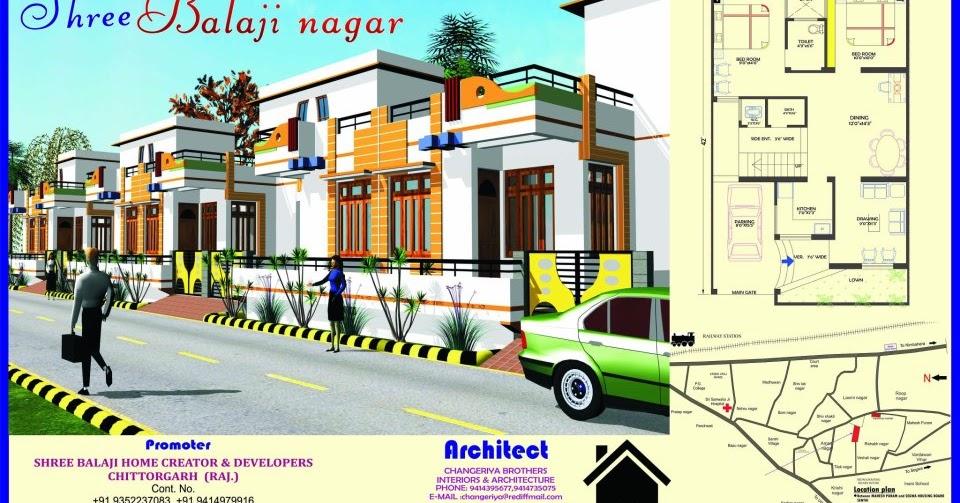 3d Naksha Balaji Nagar Chittorgarh
