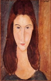 """Modigliani """"Ritratto di Jeanne"""""""