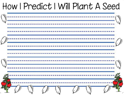 How to Plant a Seed Writing